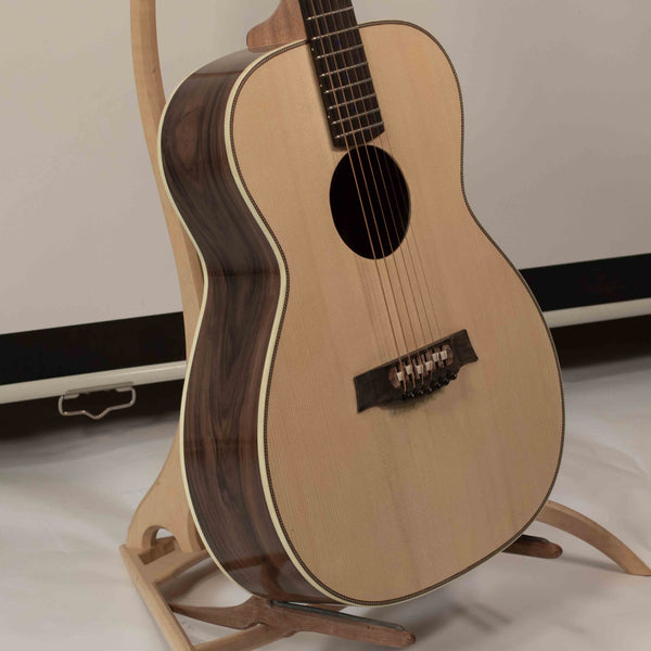 a guitar luthier near you can bring adirondack spruce and bolivian rosewood to life