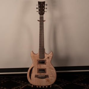 Cat's Eye Electric Hollow Body Guitar