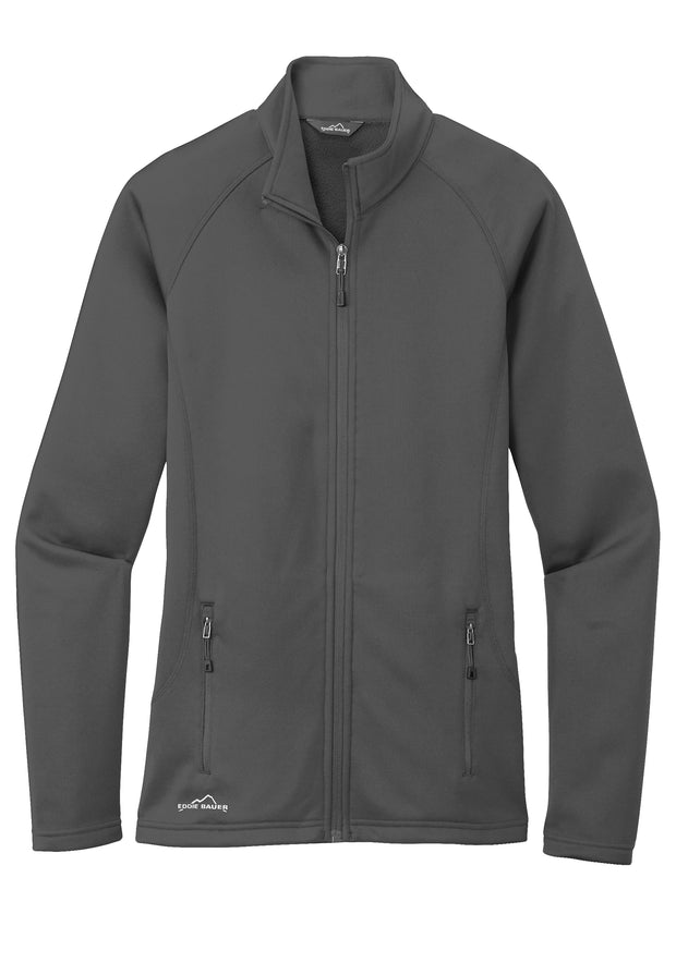 Eddie Bauer® Ladies Smooth Fleece Base Layer Full Zip