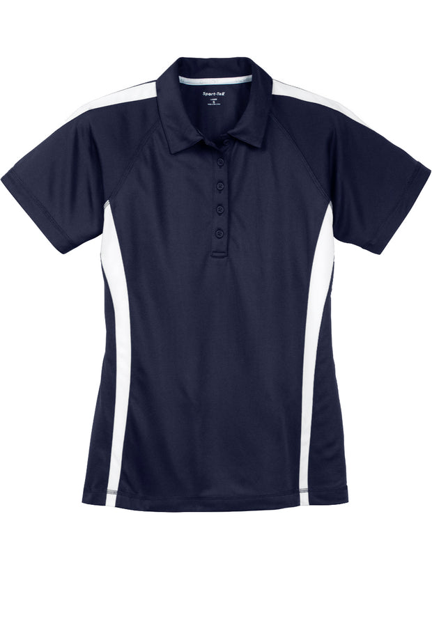 Sport-Tek® Ladies PosiCharge® Micro-Mesh Colorblock Polo