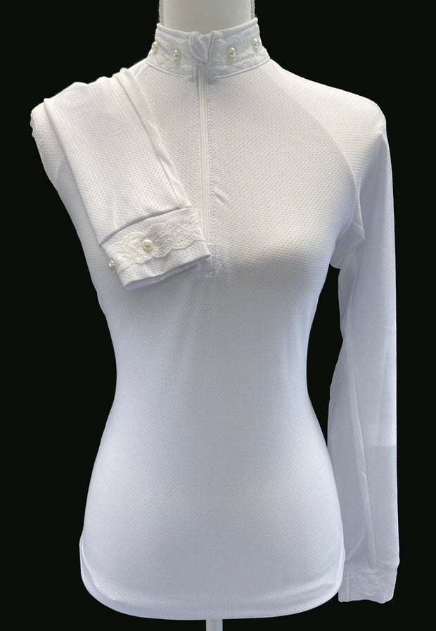 Womens Custom Show Shirt with Side Panels