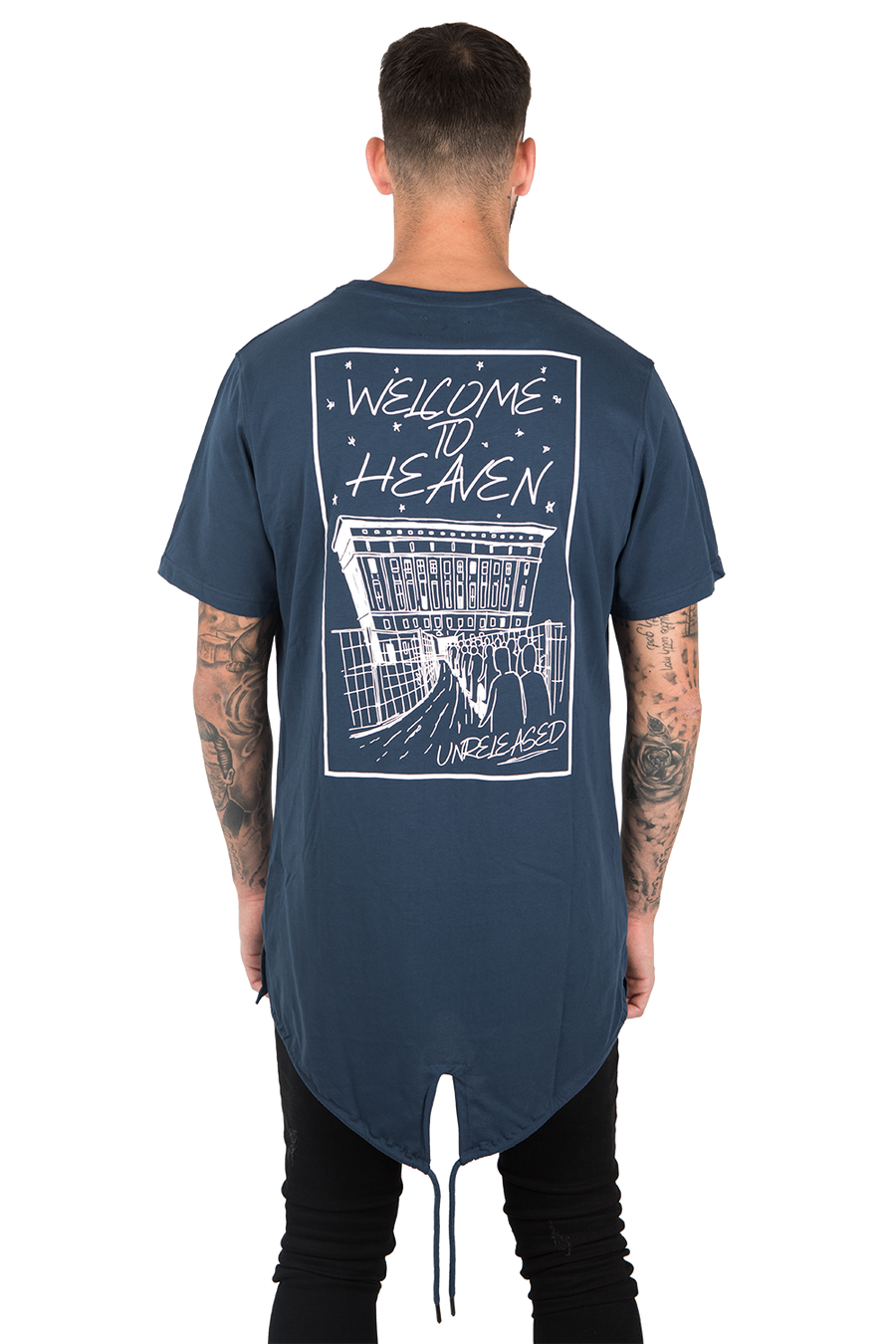 "PRINTED T-SHIRT ""WELCOME TO HEAVEN"""
