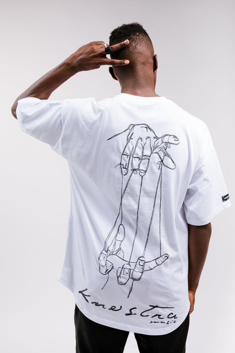 MEN'S OVERSIZE K-NOSTRA EDITION T-SHIRT WHITE