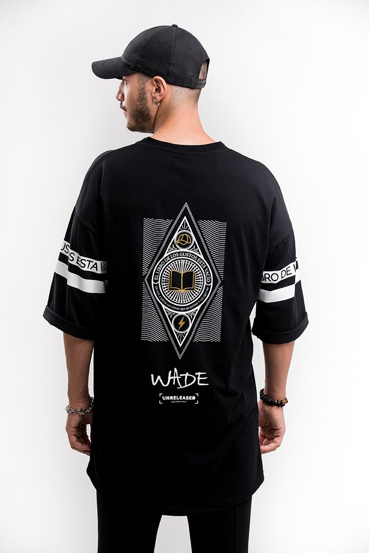 T-SHIRT WADE EDITION MAN - BLACK