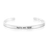 Faith Over Fear Mantra Bangle