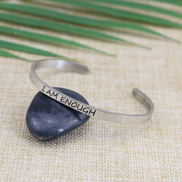 I am Enough Mantra Bangle