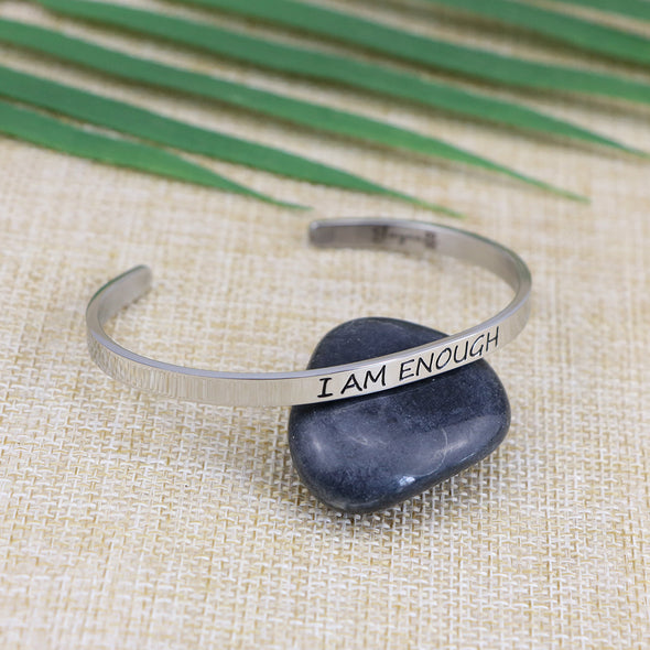 I am Enough Mantra Bracelets