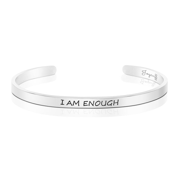 I am Enough Mantra Bracelet