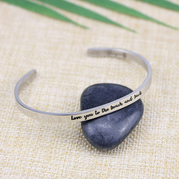 Love You to the Beach and Back Bangle