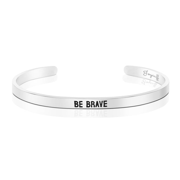 Be Brave Mantra Cuff