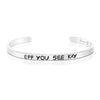 Eff You See Kay Mantra Bracelet