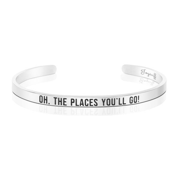 Oh The Places You'll Go Mantra Bracelets