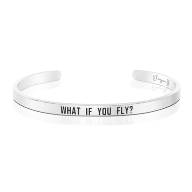 What If You Fly Mantra Bracelets