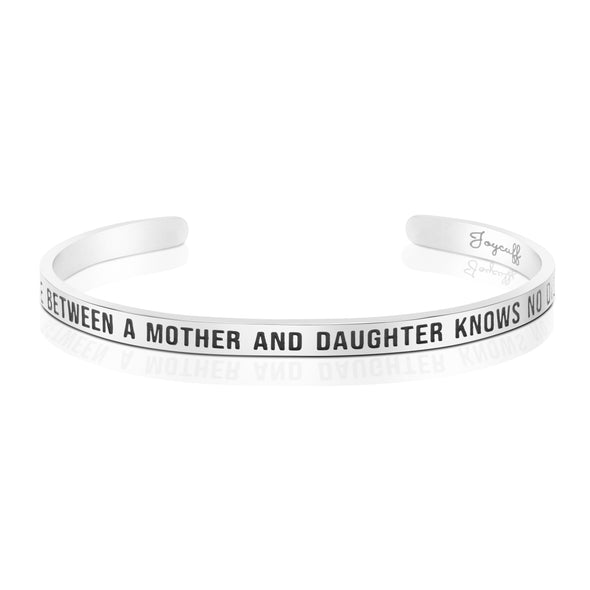 The Love Between Mother And Daughter Knows No Distance Mantra Bracelet Mother's Day Gift