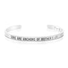 Sons are The Anchors of A Mother's Life Mantra Bracelet