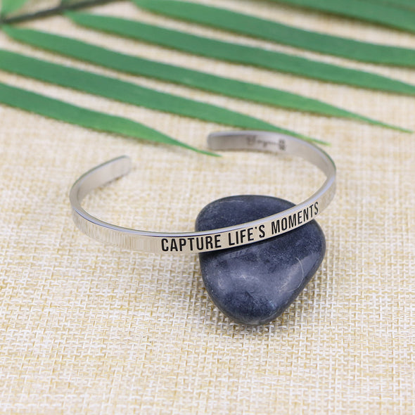 Capture Life's Moments Mantra Jewelry