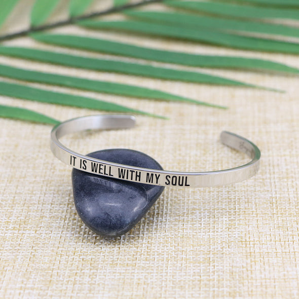 It is Well with My Soul Mantra Bangle