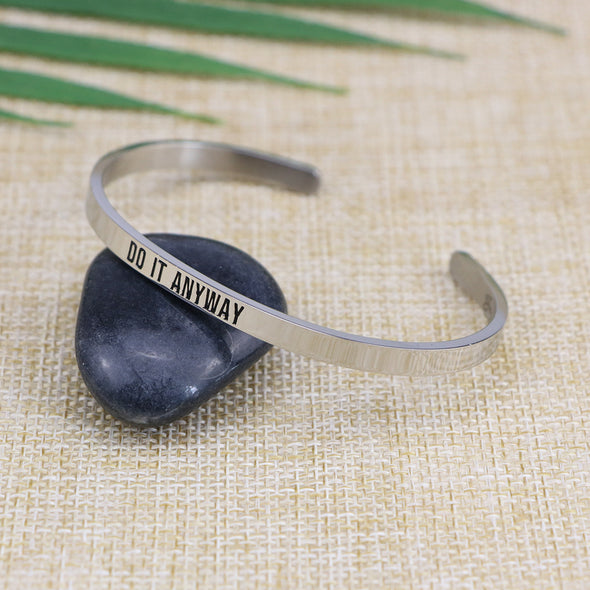 Do it Anyway Mantra Jewelry