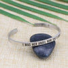 I Was Her Angel Now She's Mine Mantra Bangle