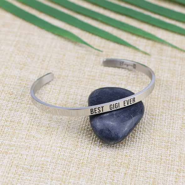 Best Gigi Ever Mantra Bangle