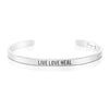 Live Love Heal Mantra Bracelet