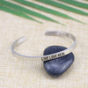 Live Love Heal Mantra Bangle