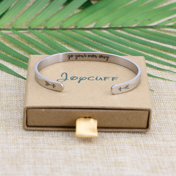 Motivational Positivity Affirmation  Empowered bracelets