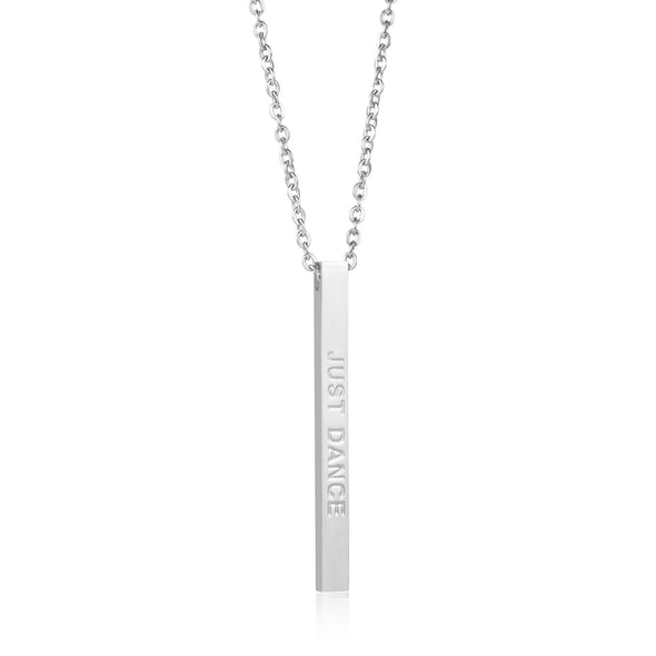 Just Dance Inspirational Necklace