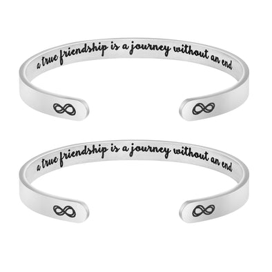A True Friendship is a Journey Without an End BRACELETS