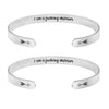 I Am a Funking Warrior Set of 2 Bracelets
