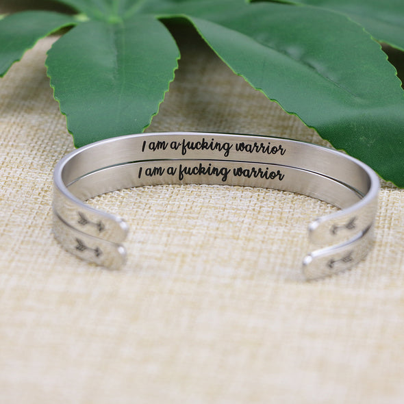 I Am a Funking Warrior Set of 2 Jewelry