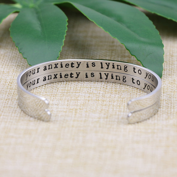 Your Anxiety is Lying to You Jewelry