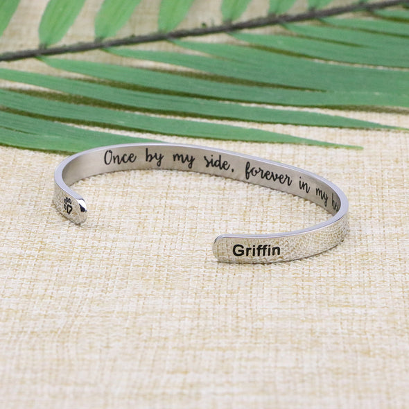 Griffin Memorial Gift Loss of Pet Bracelet