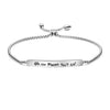 Oh The Places You'll Going Adjustable Chain Link Bracelet