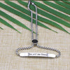 You Will Be Found Adjustable Chain Link  Bracelet