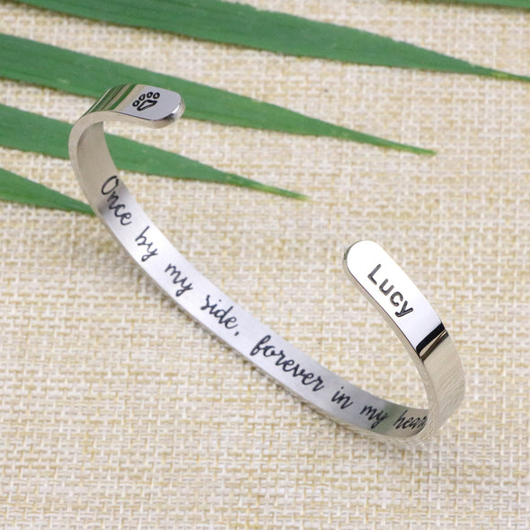 Lucy Personalized Name Remembrance Jewelry for Loss of Pet
