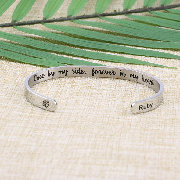 Ruby Pet Memorial Jewelry Personalized Dog Sympathy Gift