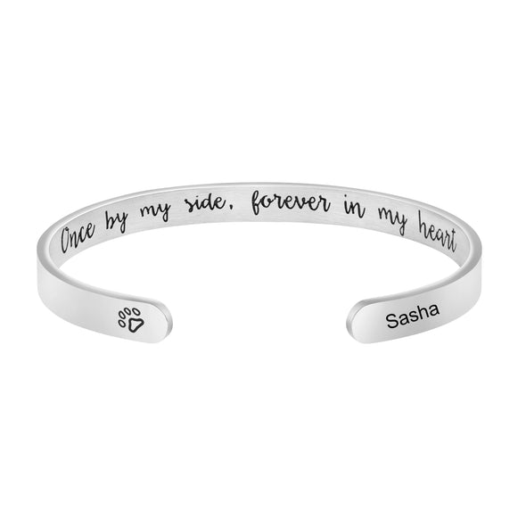 Sasha Pet Memorial Jewelry Personalized Dog Sympathy Gift