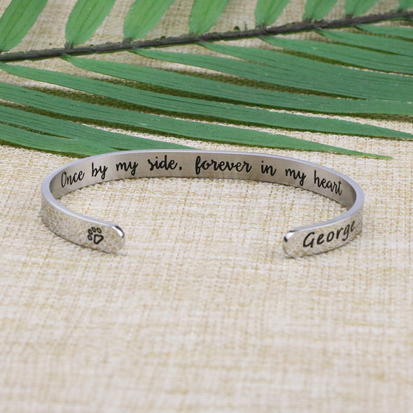 George Pet Memorial Jewelry Personalized Dog Sympathy Gift