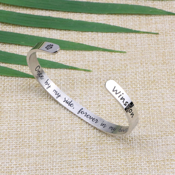 Winston Pet Memorial Bracelets for Pet Lovers