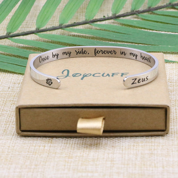 Zeus Pet Memorial Jewelry Personalized Dog Sympathy Gift