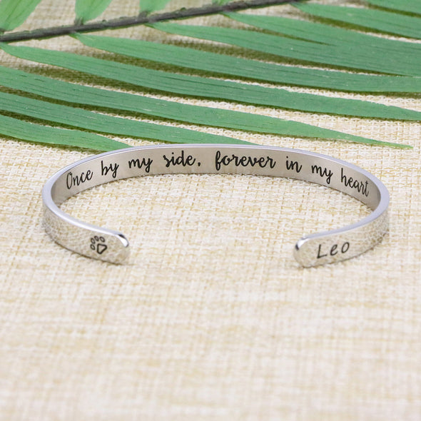 Leo Pet Memorial Jewelry Personalized Dog Sympathy Gift