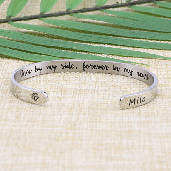Milo Pet Memorial Jewelry Personalized Dog Sympathy Gift