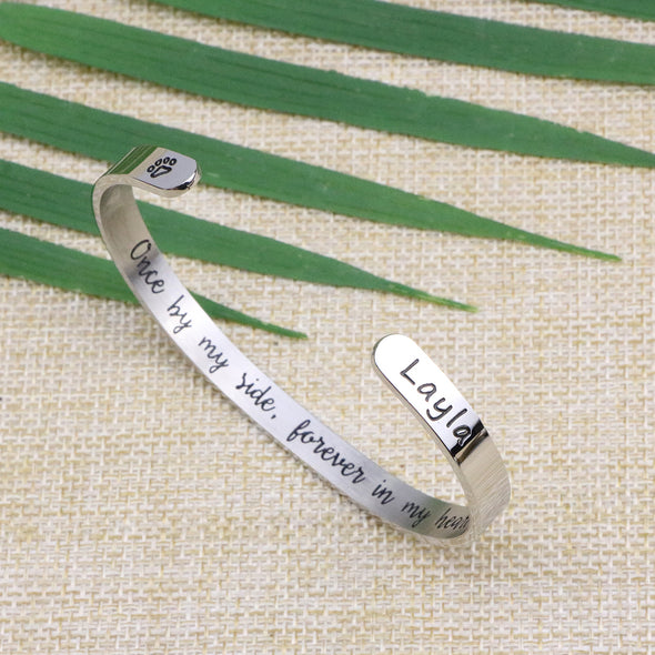 Layla Pet Memorial Jewelry Personalized Dog Sympathy Gift