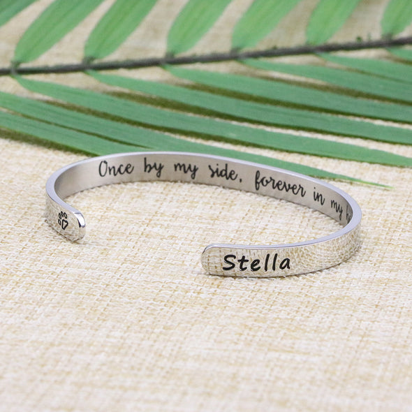 Stella Pet Memorial Jewelry Personalized Dog Sympathy Gift