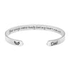 Your Wings Were Ready My Heart Was Not Dad Memorial Bracelet