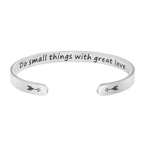 Do Small Things With Great Love bracelets