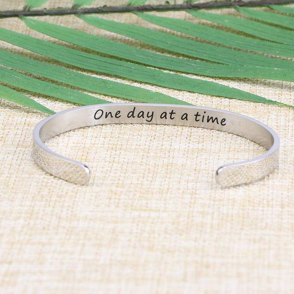 Once Day At A Time Cuff