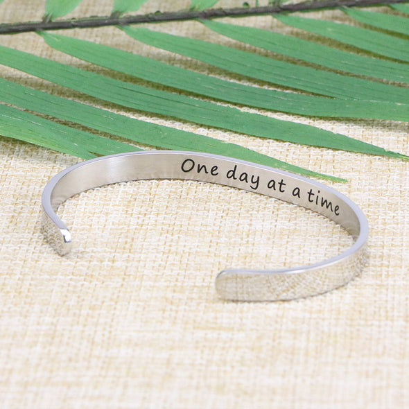 Once Day At A Time Bangle