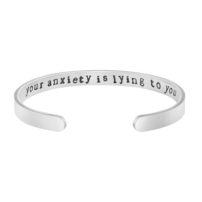 Your Anxiety is Lying To You bracelets